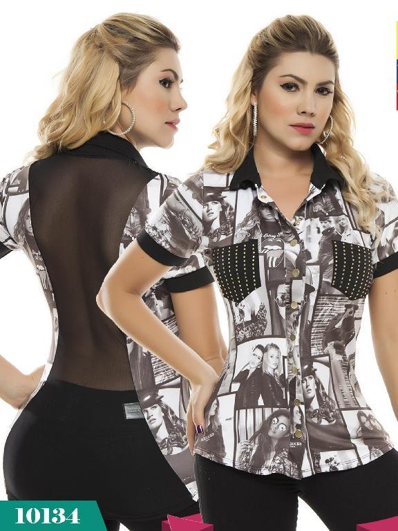 Blusa Moda Colombiana Cereza - Ref. 111 -10134