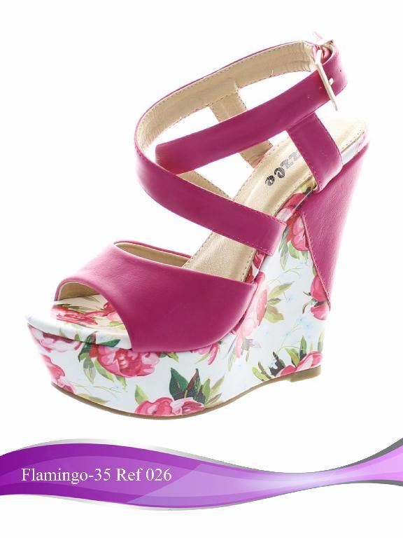 Calzado Flamingo-35  - Ref. 238 -026 Flamingo-35 - Coral