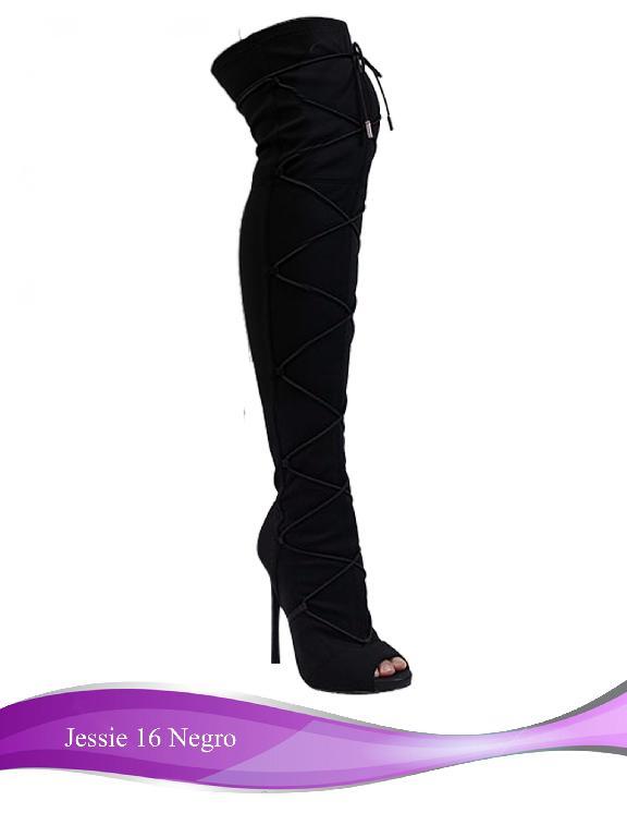 Calzado Jessie-16 Negro - Ref. 210 -021 Jessie-16 Negro