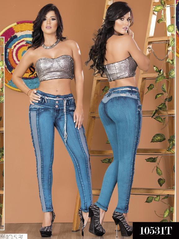 Jeans Levantacola Colombiano Tabbachi 10531 - Ref. 101 -10531 T