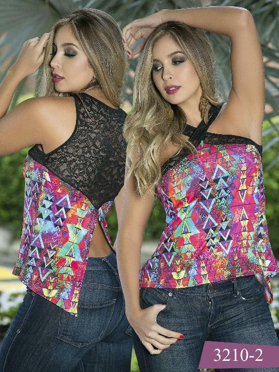 Blusa Moda Thaxx - Ref. 119 -32102