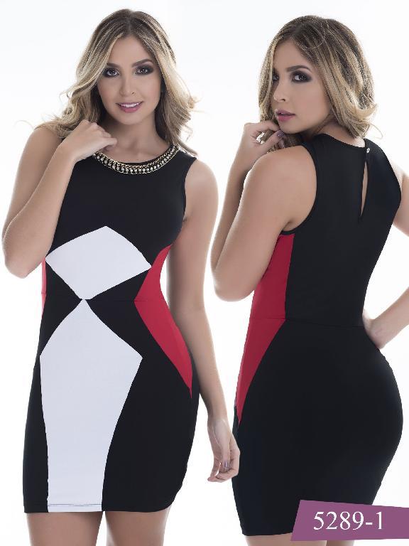 Vestido Moda Colombiano Thaxx - Ref. 119 -5289-1