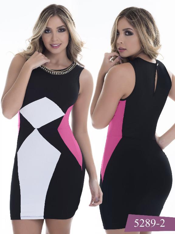 Vestido Moda Colombiano Thaxx - Ref. 119 -5289-2