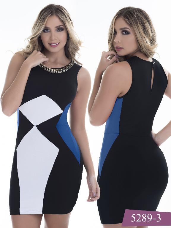 Vestido Moda Colombiano Thaxx - Ref. 119 -5289-3
