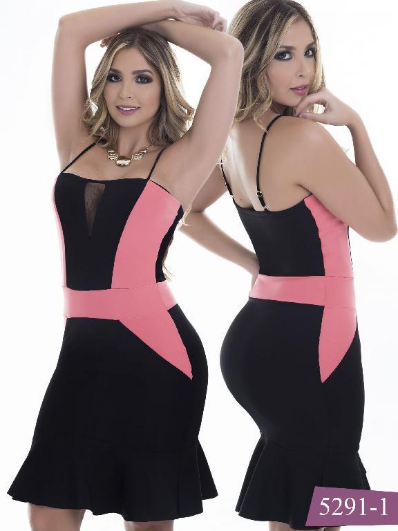 Vestido Moda Colombiano Thaxx - Ref. 119 -5291-1