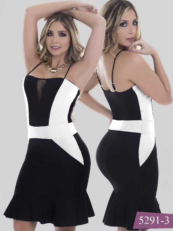 Vestido Moda Colombiano Thaxx - Ref. 119 -5291-3