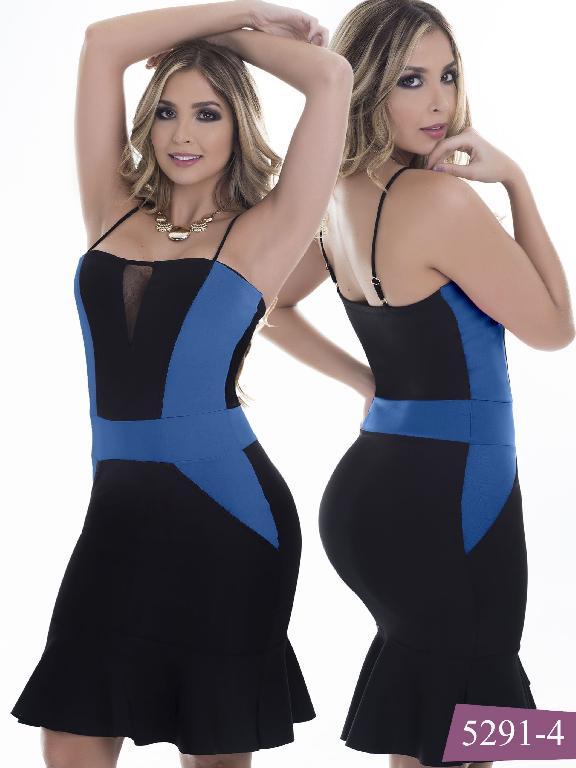 Vestido Moda Colombiano Thaxx - Ref. 119 -5291-4