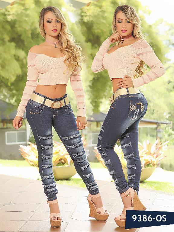 Jeans Levantacola Colombiano Osheas