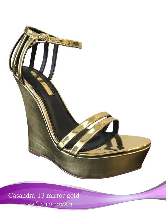 Calzado Liliana Casandra-21 Dorado - Ref. 210 -030 Casandra-21 Dorado