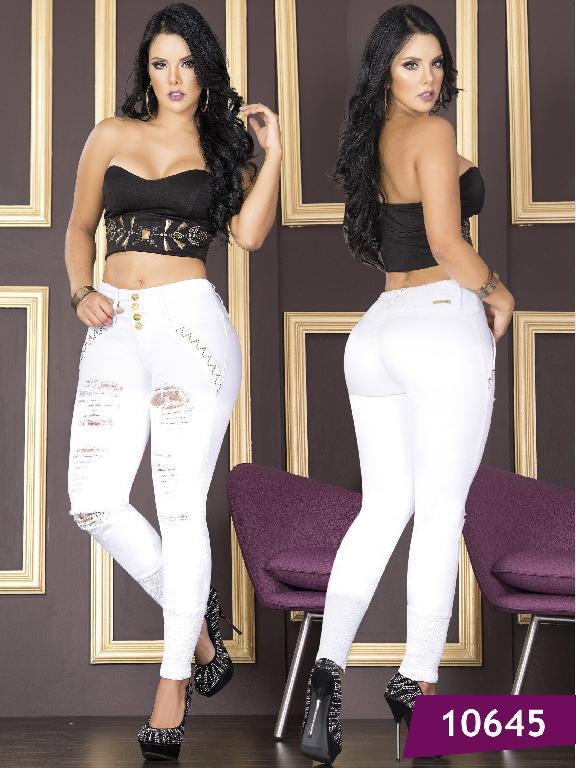 Jeans Levantacola Colombiano Tabbachi  - Ref. 101 -10645T