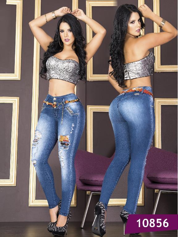Jeans Levantacola Colombiano Tabbachi - Ref. 101 -10856T
