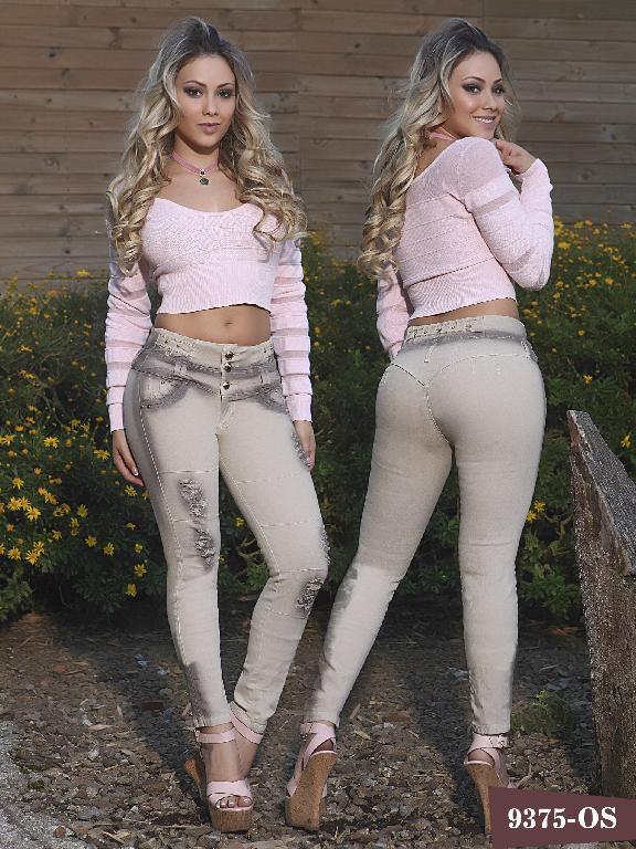 Jeans Levantacola Colombiano Osheas  - Ref. 103 -9375 OS