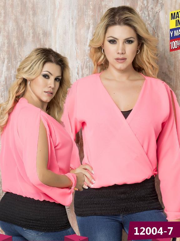 Blusa Moda Colombiana Cereza - Ref. 111 -12004-7 Fucsia