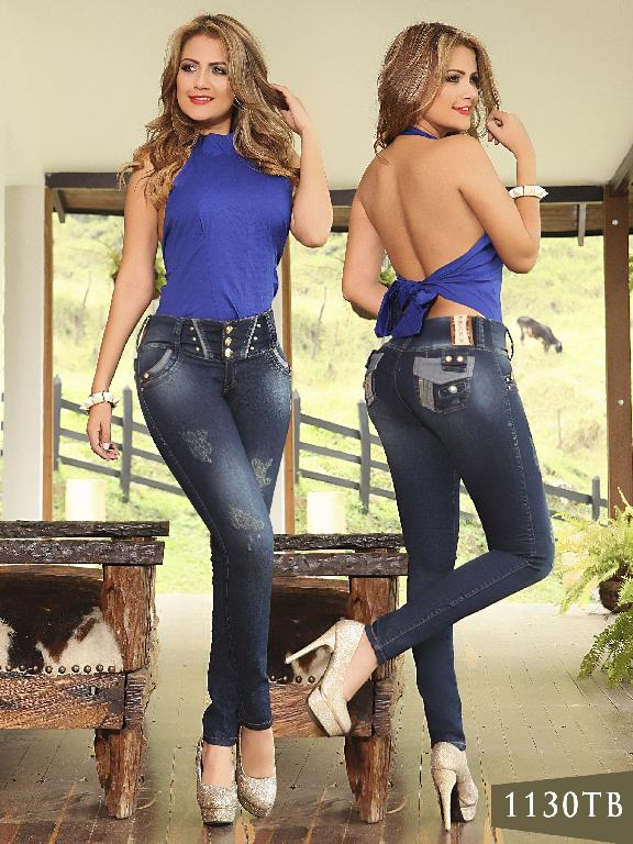 Jeans Levantacola Colombiano Thaxx Boutique - Ref. 119 -1130