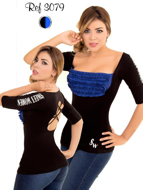 Blusa Moda Thaxx - Ref. 119 -3079