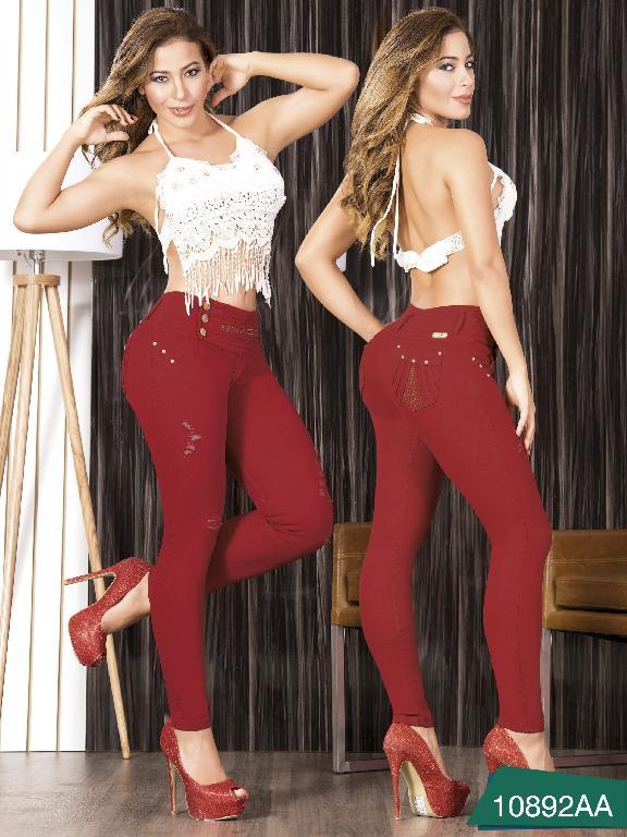 Jeans Levantacola colombiano Studio AA - Ref. 235 -10892 AA