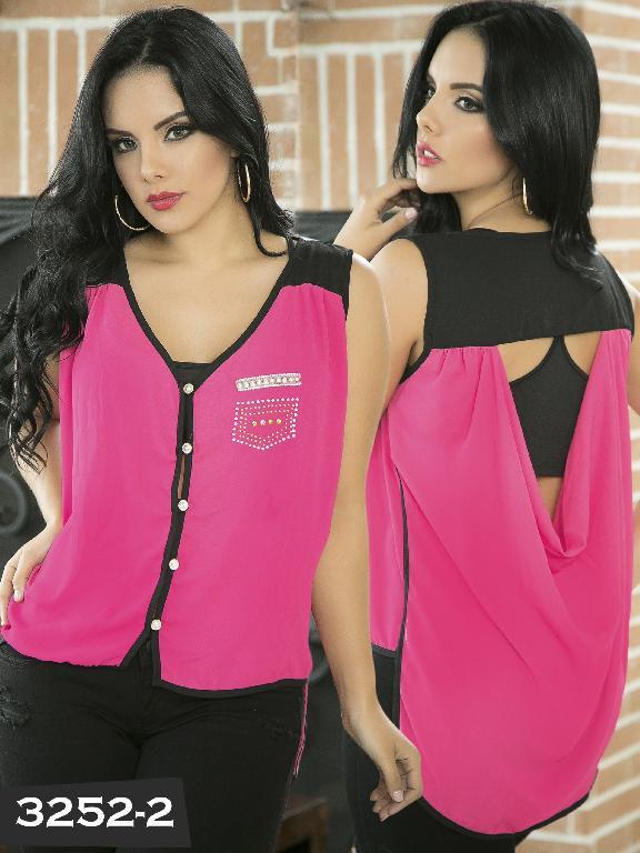 Blusa Moda Thaxx - Ref. 119 -3252-2