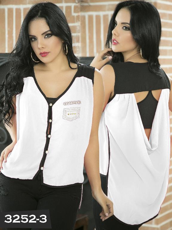 Blusa Moda Thaxx - Ref. 119 -3252-3