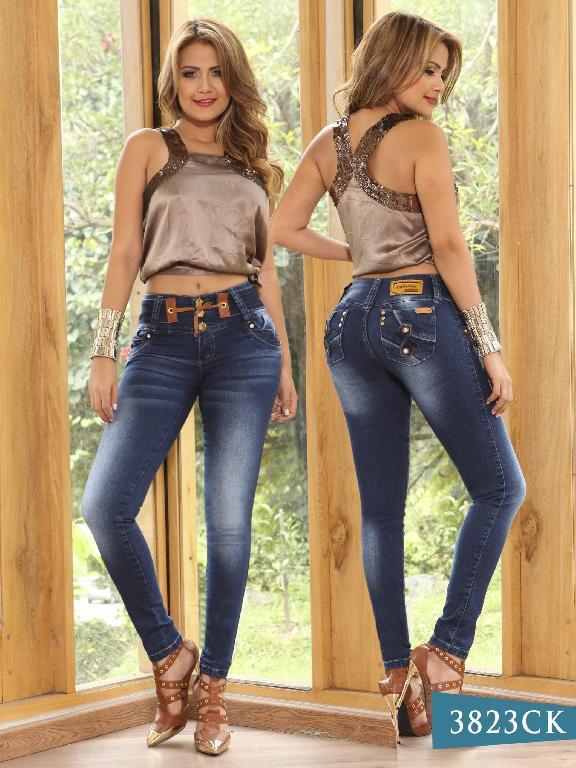 Jeans Levantacola Colombiano Cokette - Ref. 119 -3823