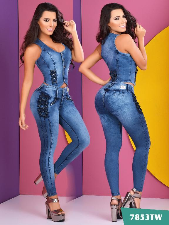 Conjunto Levantacola Colombiano Top Women  - Ref. 123 -7853 TW