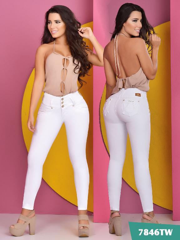 Jeans Levantacola Colombiano Top Women  - Ref. 123 -7846 TW