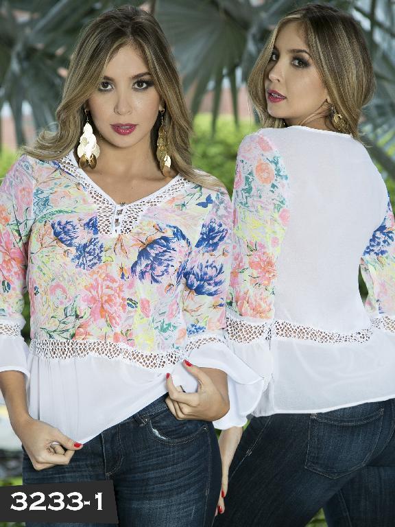 Blusa Moda Thaxx - Ref. 119 -3233-1