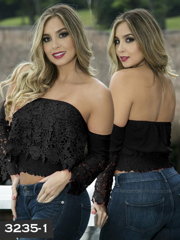 Blusa Moda Thaxx - Ref. 119 -3235-1