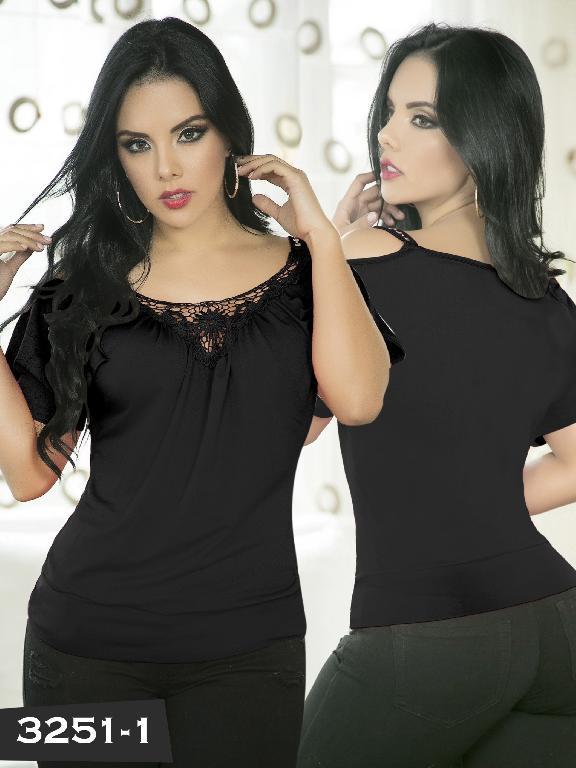 Blusa Moda Thaxx - Ref. 119 -3251-1