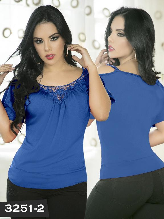Blusa Moda Thaxx - Ref. 119 -3251-2