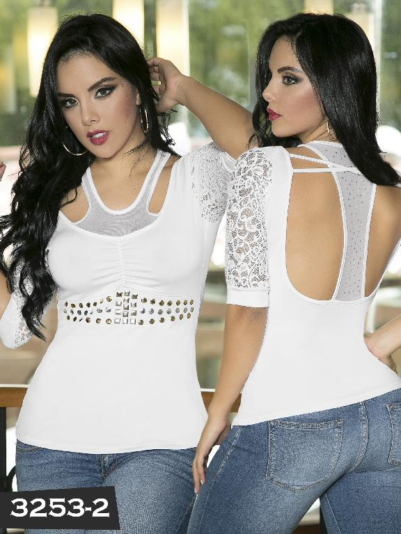 Blusa Moda Thaxx - Ref. 119 -3253-2
