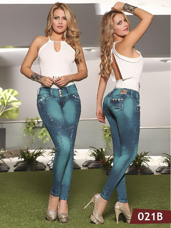 Jeans Levantacola Colombiano Bambu