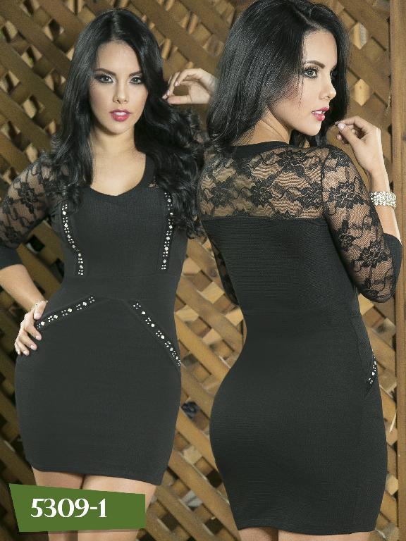 Vestido Moda Colombiano Thaxx - Ref. 119 -5309-1