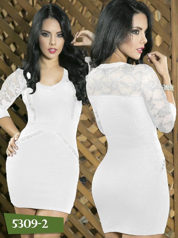 Vestido Moda Colombiano Thaxx - Ref. 119 -5309-2