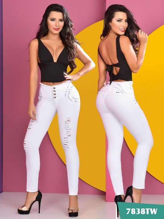 Jeans Levantacola Colombiano Top Women