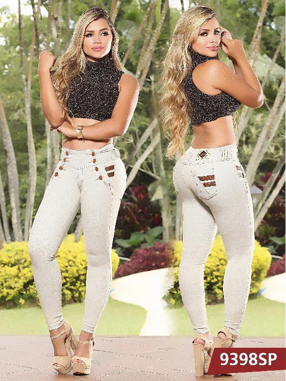 Jeans Levantacola Colombiano Sweet Pink  - Ref. 242 -9398 SP