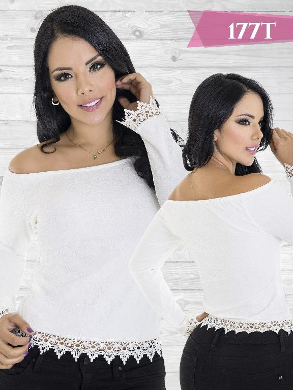 Blusa Moda Colombiana Tabbachi Beige - Ref. 236 -177 Beige