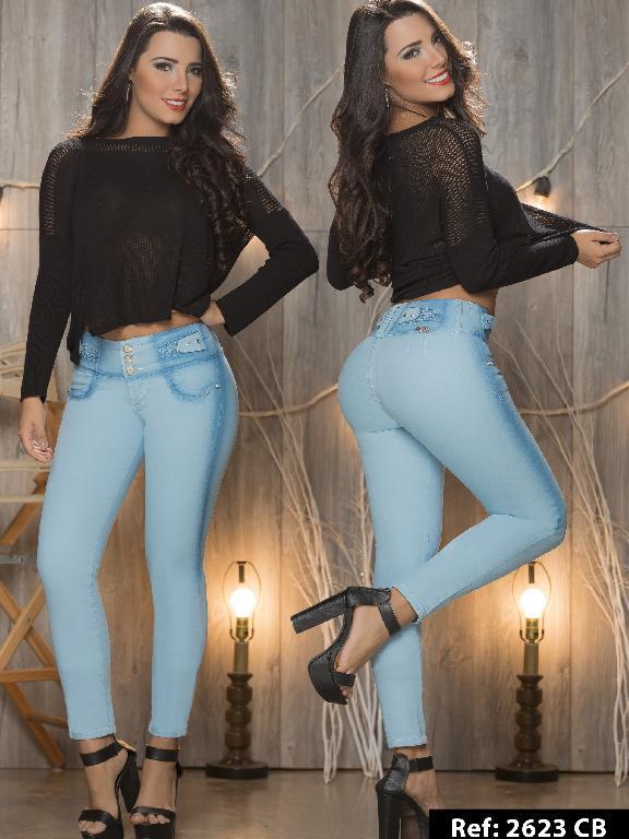 Jeans Levantacola Colombiano Capellini Boutique  - Ref. 106 -2623CB