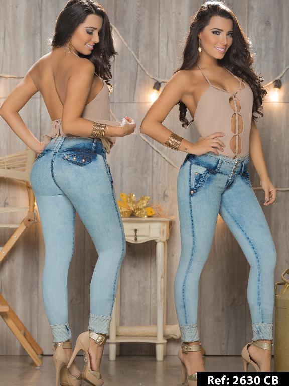Jeans Levantacola Colombiano Capellini Boutique  - Ref. 106 -2630CB