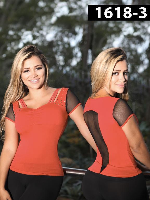 Blusa Moda Colombiana Kpriccio  - Ref. 233 -1618 3 Rojo