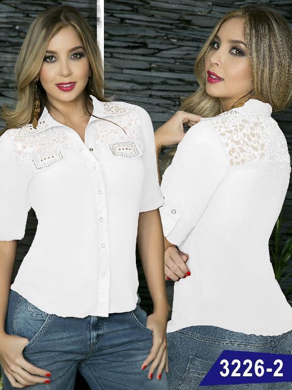 Blusa Moda Thaxx  - Ref. 119 -3226-2