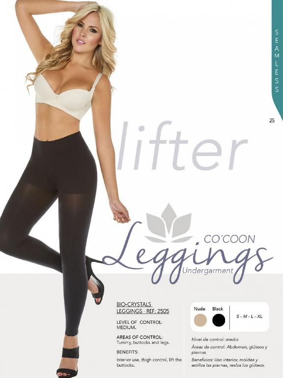 Leggings Con Ajuste Perfecto - Ref. 136 - 2505