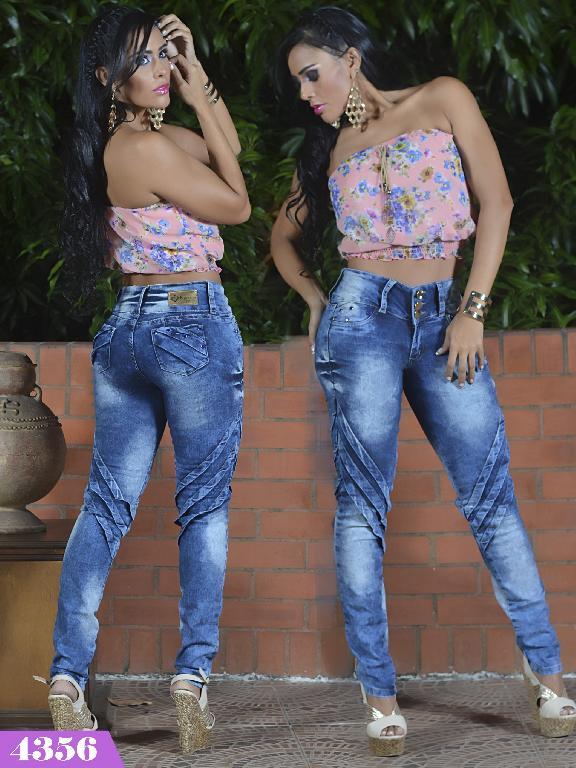 Jeans Levantacola Colombiano Kpriccio  - Ref. 126 -4356