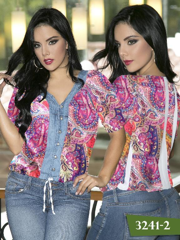 Blusa Moda Thaxx - Ref. 119 -3241-2