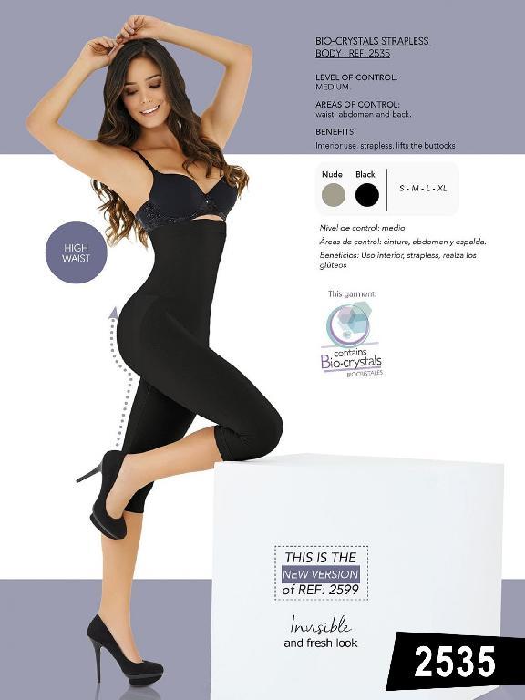 Body Strapless Realza Gluteos, Control  - Ref. 119 -2535