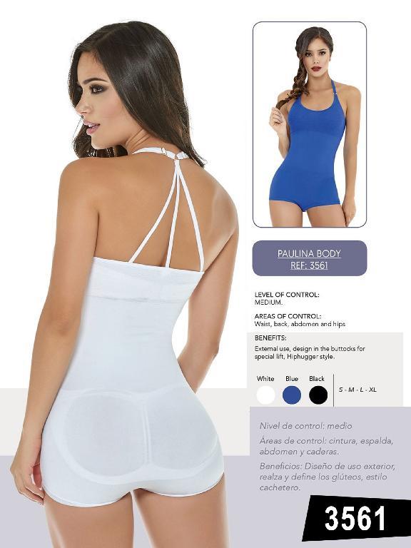 Body Blusa Cachetero Realza Gluteos - Ref. 119 -3561