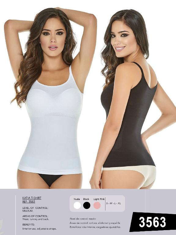T-Shirt Control Abdomen Y Espalda  - Ref. 119 -3563