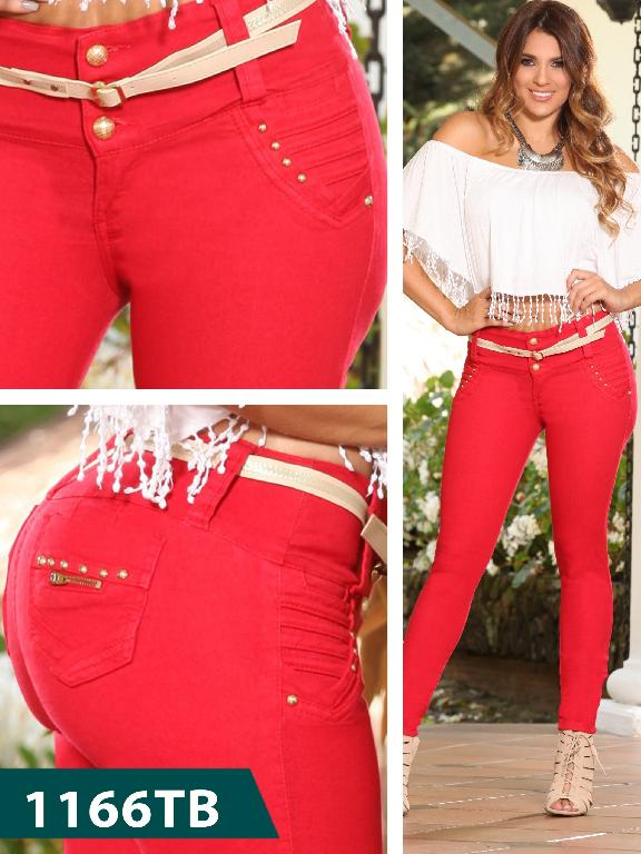 Jeans Levantacola Colombiano Thaxx Boutique  - Ref. 119 -1166 TB
