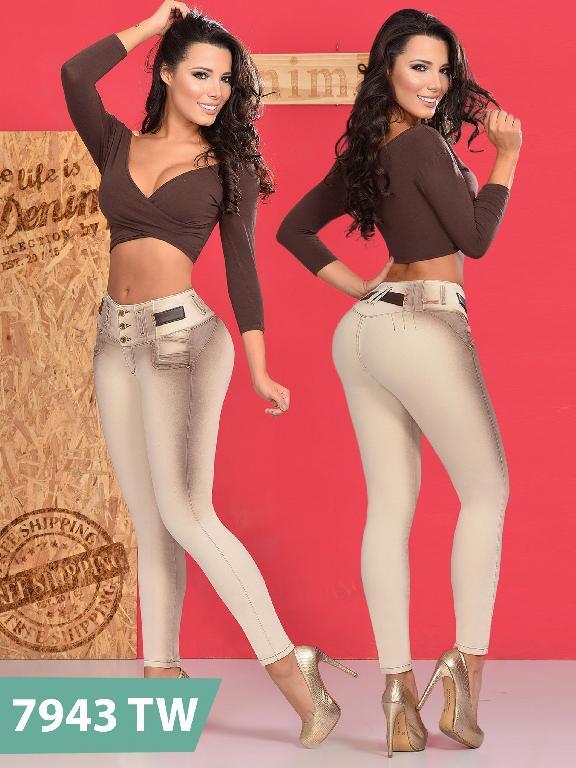 Jeans Levantacola Colombiano Top Women  - Ref. 123 -7943 TW