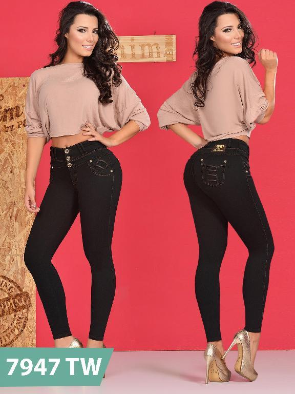 Jeans Levantacola Colombiano Top Women  - Ref. 123 -7947TW