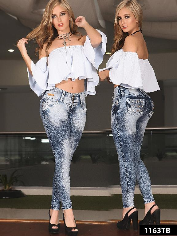 Jeans Levantacola Colombiano Thaxx Boutique  - Ref. 119 -1163TB